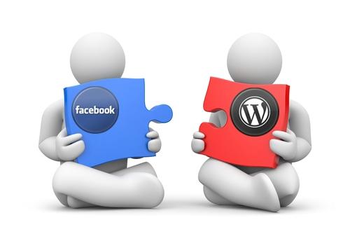 בניית דפי פייסבוק במערכת וורדפרס