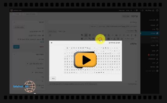 איך לעבוד עם עורך המסך של וורדפרס ולהוסיף לו כפתורים